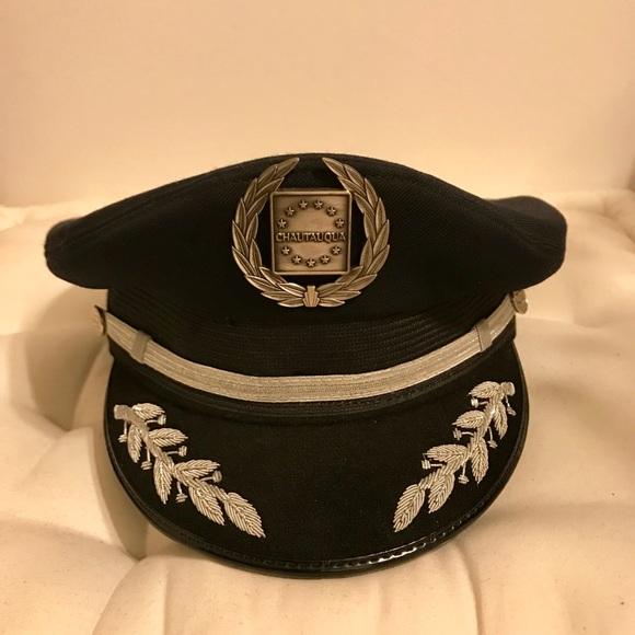 4e9f80ec275ff Genuine Airline Captain Hat. M 5b0a0e5c31a376886eb021d5
